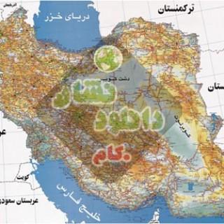 Iran Way Map