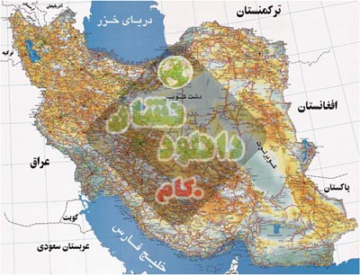 Iran Way Map