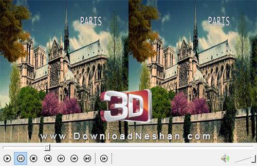 دانلود کلیپ 3 بعدی از دیدنی های پاریس LG 3D DEMO 04 - World Cities - Paris