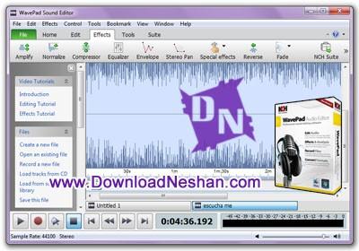 ویرایش فایل های صوتی بصورت حرفه ای اما خیلی راحت - دانلودنشان دات کام