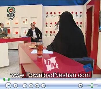 سوتی خانم نامداری در برنامه رنده تلویزیون