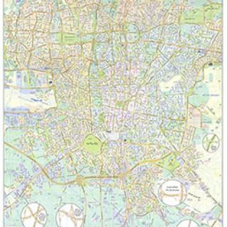 نقشه جدید تهران با جزئیات