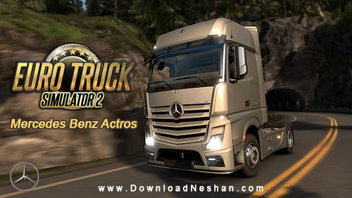 Mercedes Benz Actros for Euro Truck Simulator 2