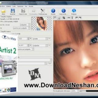 نرم افزار تبدیل عکس به نقاشی زیبا و هنرمندانه - دانلودنشان دات کام