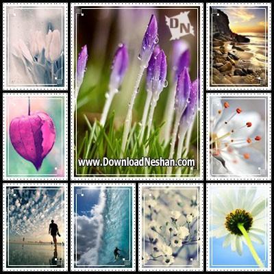 مجموعه والپیپرهای زیبا از طبیعت برای موبایل - دانلودنشان دات کام