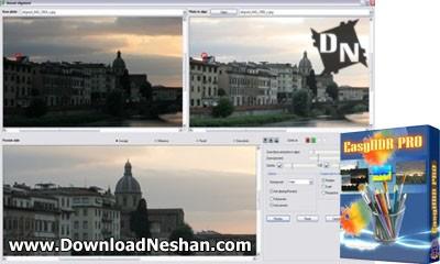تلفیق چند عکس وساخت تصاویر HDR - دانلودنشان دات کام